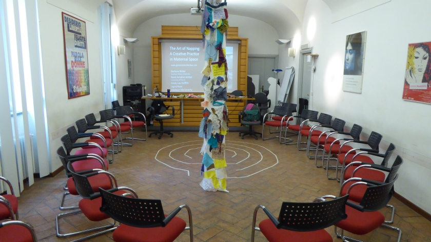 01DreamScroll_Gestare installation at conference